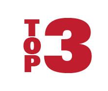 Trophée Laurent Marti du plus bel essai de l'UBB: round 12 Top-3